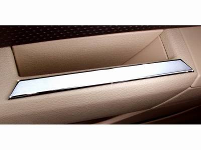 Car Interior - Interior Accessories - Action Artistry - Ford Mustang Action Artistry Chrome Door Handle Accents - 15521