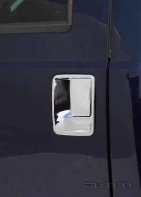 Suv Truck Accessories - Chrome Billet Door Handles - Putco - Ford F350 Superduty Putco Door Handle Covers - 401013