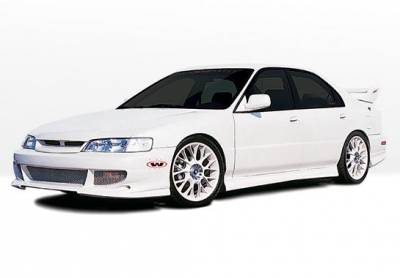 Accord 4Dr - Body Kits - VIS Racing - Honda Accord 4DR VIS Racing Bigmouth Complete Body Kit - 4PC - 890576