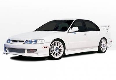 Accord 2Dr - Body Kits - Wings West - Honda Accord 2DR Wings West Bigmouth Complete Body Kit - 4PC - 890577