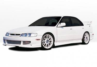 Accord 4Dr - Body Kits - VIS Racing - Honda Accord 4DR VIS Racing Bigmouth Complete Body Kit - 4PC - 890578