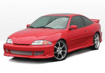 Cavalier 2Dr - Body Kits - Wings West - Chevrolet Cavalier 2DR Wings West Bigmouth Complete Body Kit - 4PC - 890579