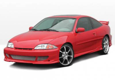 Cavalier 2Dr - Body Kits - VIS Racing - Chevrolet Cavalier 2DR VIS Racing Bigmouth Complete Body Kit - 4PC - 890579