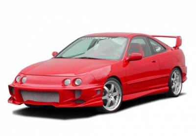 Integra 2Dr - Body Kits - VIS Racing - Acura Integra 2DR VIS Racing Aggressor Complete Body Kit - 4PC - 890597