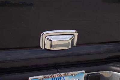 SUV Truck Accessories - Tail Gate Lock - Putco - Chevrolet CK Truck Putco Chromed Stainless Steel Tailgate Handle Cover - 401022