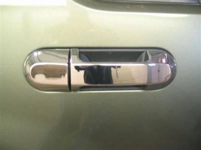Suv Truck Accessories - Chrome Billet Door Handles - Putco - Ford Explorer Putco Door Handle Covers - 401029