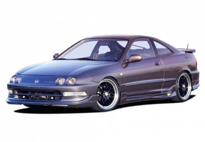 Integra 2Dr - Body Kits - VIS Racing - Acura Integra 2DR VIS Racing G5 Series Complete Body Kit - 4PC - 890623