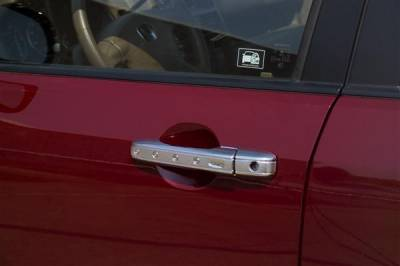 Suv Truck Accessories - Chrome Billet Door Handles - Putco - Mazda CX-7 Putco Door Handle Covers - 401036