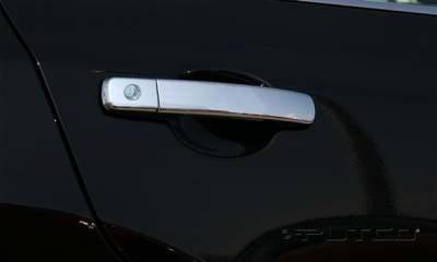 Suv Truck Accessories - Chrome Billet Door Handles - Putco - Nissan Altima Putco Door Handle Covers - 401045