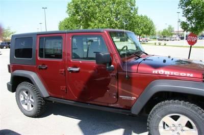 Suv Truck Accessories - Chrome Billet Door Handles - Putco - Dodge Nitro Putco Door Handle Covers - 401046