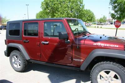 Suv Truck Accessories - Chrome Billet Door Handles - Putco - Jeep Wrangler Putco Door Handle Covers - 401046