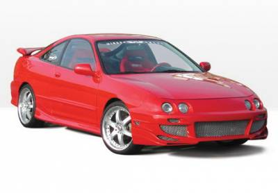 Integra 2Dr - Body Kits - Wings West - Acura Integra 2DR Wings West Avenger Complete Body Kit - 4PC - 890659