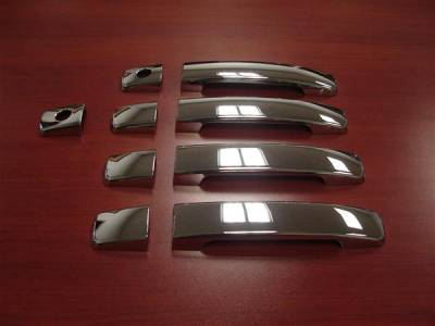 Suv Truck Accessories - Chrome Billet Door Handles - Putco - Nissan Quest Putco Door Handle Covers - 401050