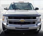 Accessories - Hood Protectors - AVS - Chevrolet Silverado AVS Hoodflector Shield - Smoke - 21154