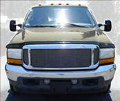 Accessories - Hood Protectors - AVS - Ford Excursion AVS Hoodflector Shield - Smoke - 21208
