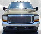 Accessories - Hood Protectors - AVS - Ford Superduty AVS Hoodflector Shield - Smoke - 21208