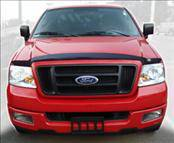 Accessories - Hood Protectors - AVS - Ford F150 AVS Hoodflector Shield - Smoke - 21718