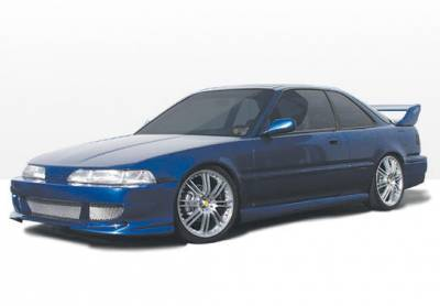 Integra 2Dr - Body Kits - VIS Racing - Acura Integra 2DR VIS Racing Bigmouth Complete Body Kit - 4PC - 890704