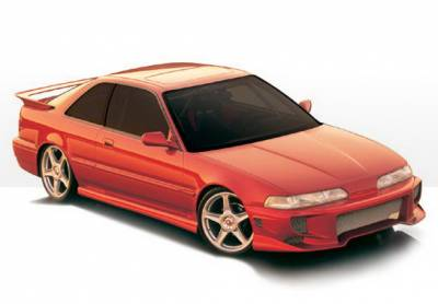 Integra 2Dr - Body Kits - Wings West - Acura Integra 2DR Wings West Aggressor Type II Body Kit - 4PC - 890705