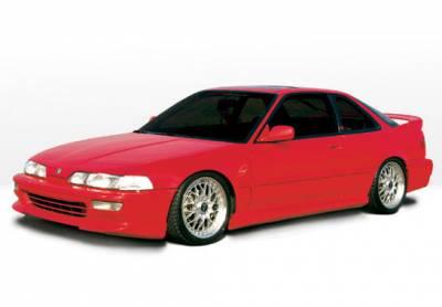 Integra 2Dr - Body Kits - VIS Racing - Acura Integra 2DR VIS Racing Racing Series Complete Body Kit - 4PC - 890707