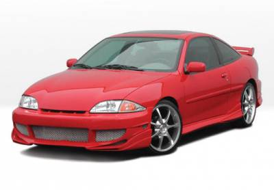 Cavalier 2Dr - Body Kits - VIS Racing - Chevrolet Cavalier 2DR VIS Racing Avenger Complete Body Kit with Voltex Rear - 4PC - 890709