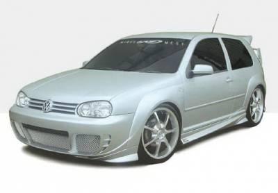 Golf GTi - Body Kits - Wings West - Volkswagen Golf GTI Wings West G-Spec Complete Body Kit - 4PC - 890720