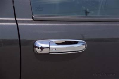 Suv Truck Accessories - Chrome Billet Door Handles - Putco - Jeep Liberty Putco Door Handle Covers - 402003