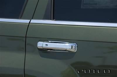 Suv Truck Accessories - Chrome Billet Door Handles - Putco - Jeep Grand Cherokee Putco Door Handle Covers - 402019