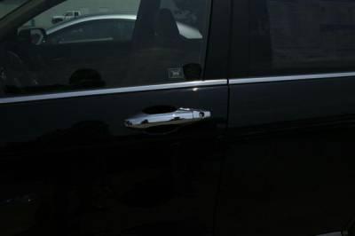 Suv Truck Accessories - Chrome Billet Door Handles - Putco - Honda CRV Putco Door Handle Covers - 402044