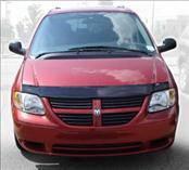 Accessories - Hood Protectors - AVS - Dodge Caravan AVS Bugflector I Hood Shield - Smoke - 22516