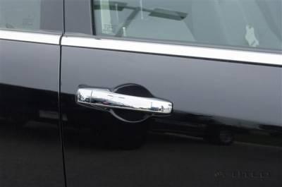 SUV Truck Accessories - Chrome Billet Door Handles - Putco - Chrysler 300 Putco Door Handle Covers - 402130
