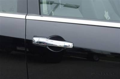 SUV Truck Accessories - Chrome Billet Door Handles - Putco - Dodge Caravan Putco Door Handle Covers - 402130