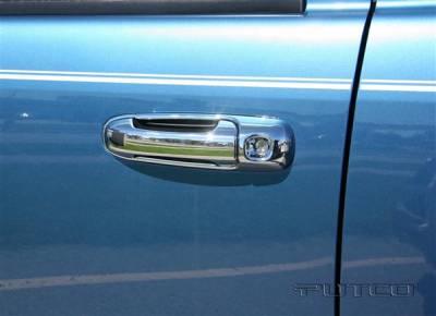 Suv Truck Accessories - Chrome Billet Door Handles - Putco - Dodge Durango Putco Door Handle Covers - 402136