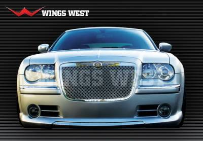 300 - Body Kits - Wings West - Chrysler 300 Wings West VIP Complete Body Kit - 4PC - 890881