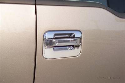 Suv Truck Accessories - Chrome Billet Door Handles - Putco - Lincoln Mark Putco Door Handle Covers - 403136