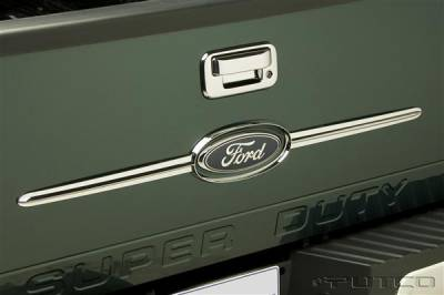 Suv Truck Accessories - Tail Gate Lock - Putco - Ford F150 Putco Tailgate Accents - 403414