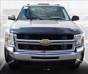 Accessories - Hood Protectors - AVS - Chevrolet Silverado AVS Bugflector I Hood Shield - Smoke - 23725