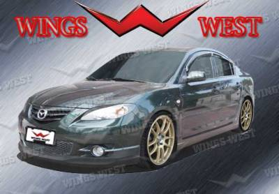 3 4Dr HB - Body Kits - VIS Racing - Mazda 3 4DR HB VIS Racing VIP Complete Body Kit - Polyurethane - 890923