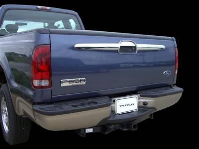Suv Truck Accessories - Tail Gate Lock - Putco - Ford F350 Superduty Putco Tailgate Accents - 403415