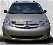 Accessories - Hood Protectors - AVS - Toyota Sienna AVS Bugflector II Hood Shield - Smoke - 24049