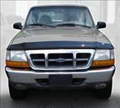 Accessories - Hood Protectors - AVS - Ford Ranger AVS Bugflector II Hood Shield - Smoke - 24432