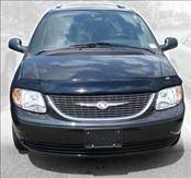 Accessories - Hood Protectors - AVS - Chrysler Town Country AVS Bugflector II Hood Shield - Smoke - 24607