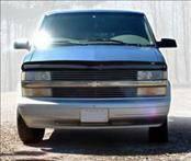 Accessories - Hood Protectors - AVS - Chevrolet Astro AVS Bugflector II Hood Shield - Smoke - 24616