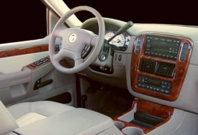 Car Interior - Interior Trim Kits - Sherwood - Ford Explorer Sherwood 3D Molded Dash Kit