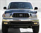 Accessories - Hood Protectors - AVS - Toyota Tacoma AVS Bugflector II Hood Shield - Smoke - 25027