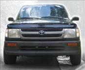 Accessories - Hood Protectors - AVS - Toyota Tacoma AVS Bugflector II Hood Shield - Smoke - 25029