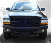 Accessories - Hood Protectors - AVS - Dodge Dakota AVS Bugflector II Hood Shield - Smoke - 25034
