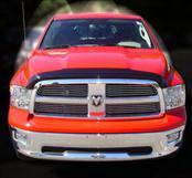 Accessories - Hood Protectors - AVS - Dodge Ram AVS Bugflector II Hood Shield - Smoke - 25045