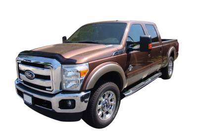 F250 - Front Bumper - Autovent Shade - Ford F250 Autovent Shade Bugflector II Shield - 25062
