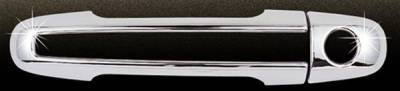 SUV Truck Accessories - Chrome Billet Door Handles - Putco - Hyundai Sonata Putco Door Handle Covers with Chrome Edging - 408604